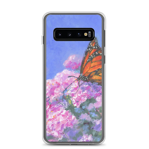 Butterfly on Lilac Samsung Case