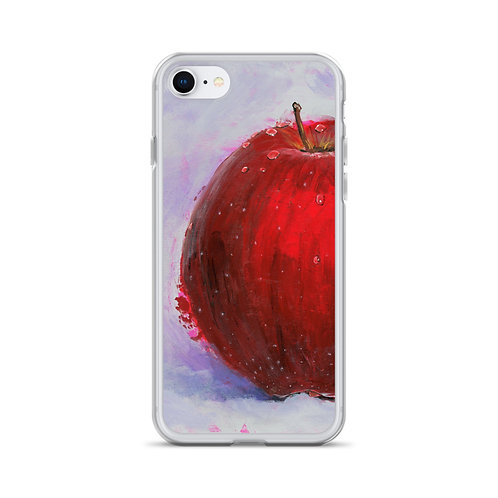 Red Apple iPhone Case