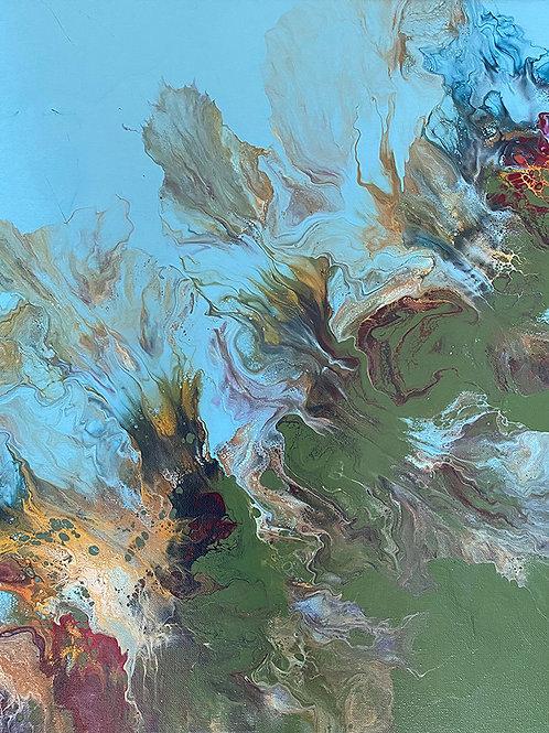 Color Splash 16 x 20 canvas