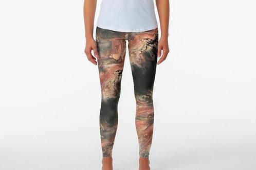 Rose Gold Vivid Leggings