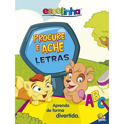 Escolinha Livro+Tapete: Procure e Ache Letras