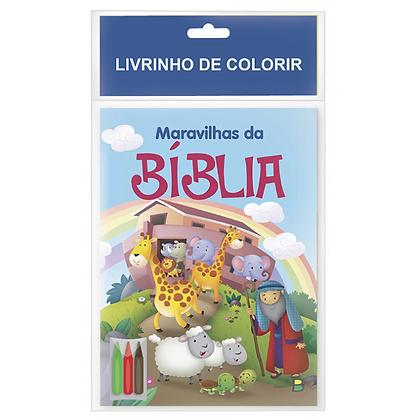 LIVRINHO DE COLORIR: MARAVILHAS DA BIBLIA