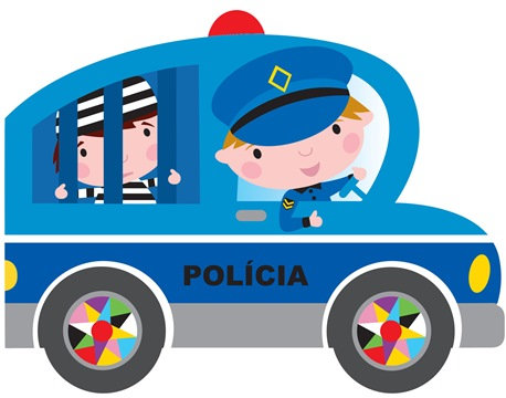 SOBRE RODAS -O CARRO DA POLICIA