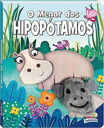 Dedinhos Agitados Um Livro-fantoche: Menor Dos Hipopótamos