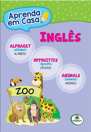 APRENDA EM CASA INGLES:ALFABETO-OPOSTOS-ANIMAIS
