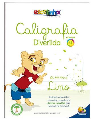 ESCOLINHA CALIGRAFIA DIVERTIDA III:V4