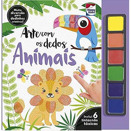 Arte Com Os Dedos: Animais