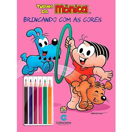 BRINCANDO COM AS CORES - MÔNICA ANIMAIS