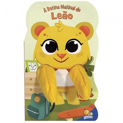 Animais Dedoches: A Rotina Matinal Do Leão