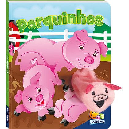 Dedinhos Agitados Um Livro-fantoche: Porquinhos