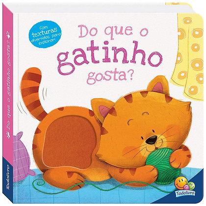AMIGUINHOS ADORAVEIS: DO QUE O GATINHO GOSTA?
