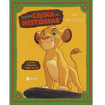 MINHA CAIXA DE HISTÓRIAS: REI LEÃO