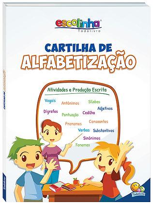 ESCOLINHA CARTILHA DE ALFABETIZACAO