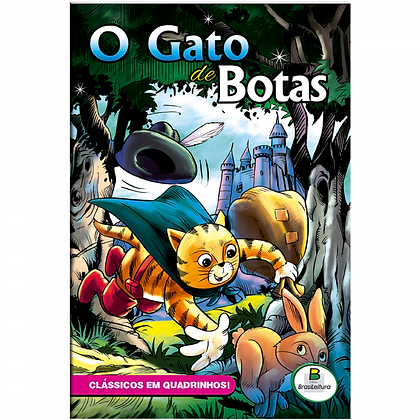 CLASSICOS EM QUADRINHOS: GATO DE BOTAS, O - TIPO GIBI