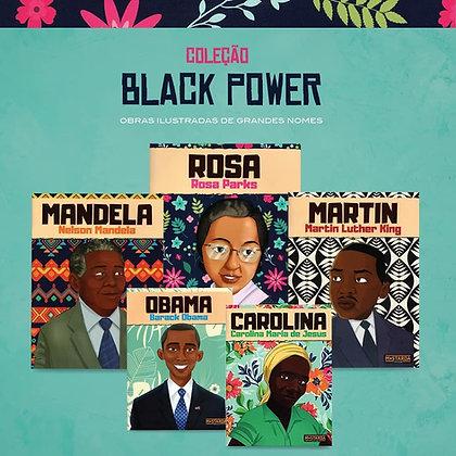Coleção Black Power - 05 títulos