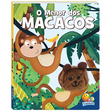 Dedinhos Agitados Um Livro-fantoche Iv: O Menor Dos Macacos