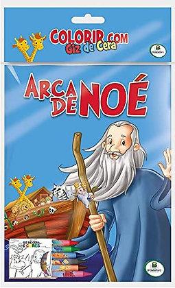 COLORIR COM GIZ DE CERA: ARCA DE NOE