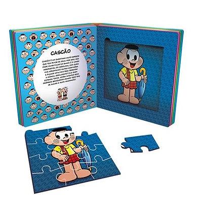 Turma da Mônica - Livro Quebra-cabeças - Conheça A Turma Da Monica