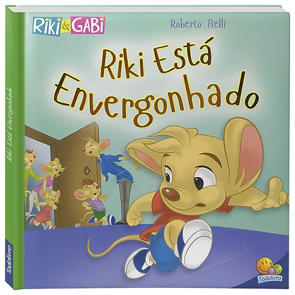 RIKI&G COMPORTAMENTOS: RIKI ESTA ENVERGONHADO