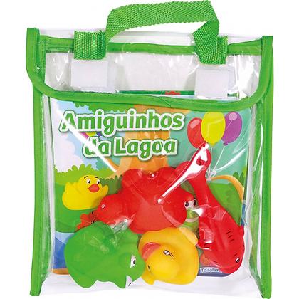 DIVERSAO NO BANHO! AMIGUINHOS DA LAGOA