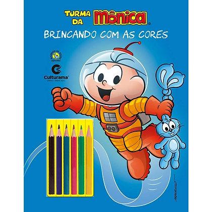 BRINCANDO COM AS CORES - CEBOLINHA UNIVERSO