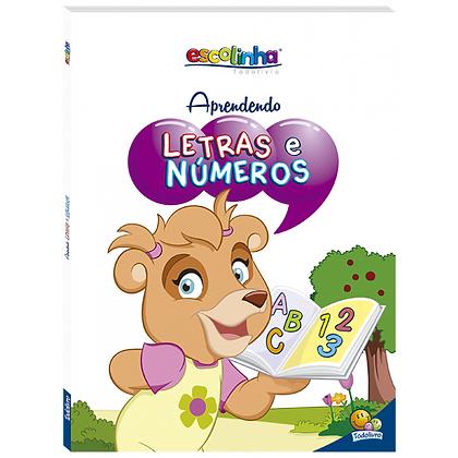 Aprendendo Letras E Números (Escolinha Todolivro)