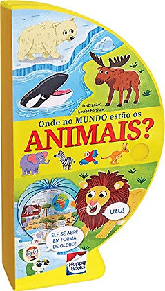 LIVRO-GLOBO: ONDE NO MUNDO ESTAO OS ANIMAIS?