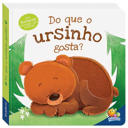 AMIGUINHOS ADORAVEIS: DO QUE O URSINHO GOSTA?