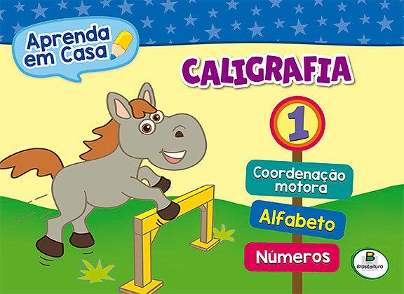 APRENDA EM CASA CALIGRAFIA: VOL.1