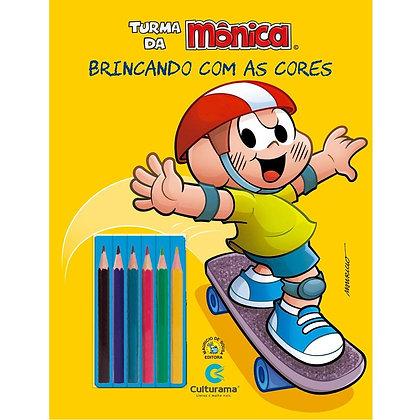 BRINCANDO COM AS CORES - CASCÃO ESPORTES