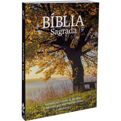 Bíblia Sagrada - Capa ilustrada Árvore