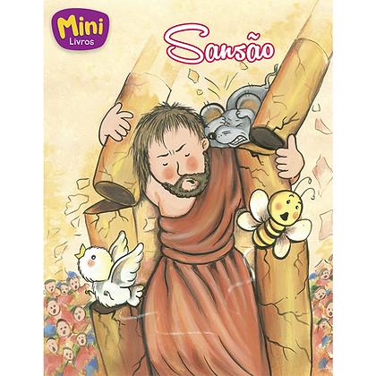 MINI - BIBLICOS: SANSAO