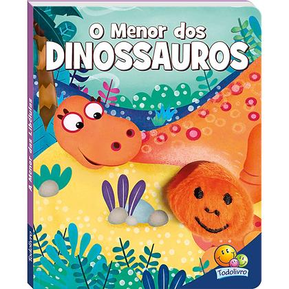 Dedinhos Agitados Um Livro-fantoche: Menor Dos Dinossauros