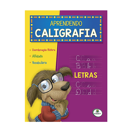 Aprendendo Caligrafia: Letras