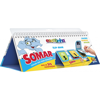 ESCOLINHA FLIP-BOOK - COMBINACOES DIVERTIDAS: SOMA