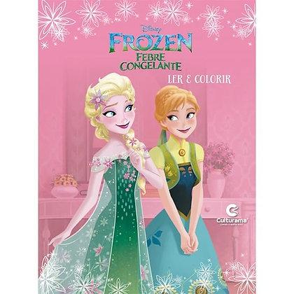 Ler E Colorir Frozen Fever
