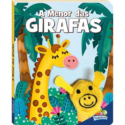 Dedinhos Agitados Um Livro-fantoche: A Menor Das Girafas