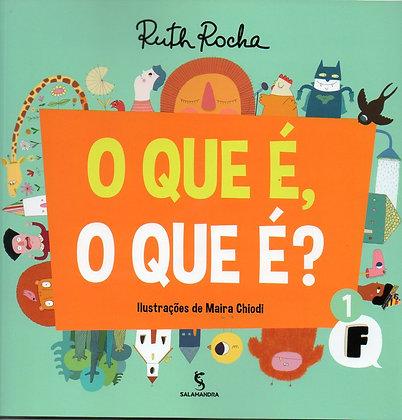 RUTH ROCHA - QUE E, O QUE E, O? - 02ED/15