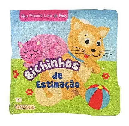 MEU PRIMEIRO LIVRO DE PANO - BICHINHOS DE ESTIMACA