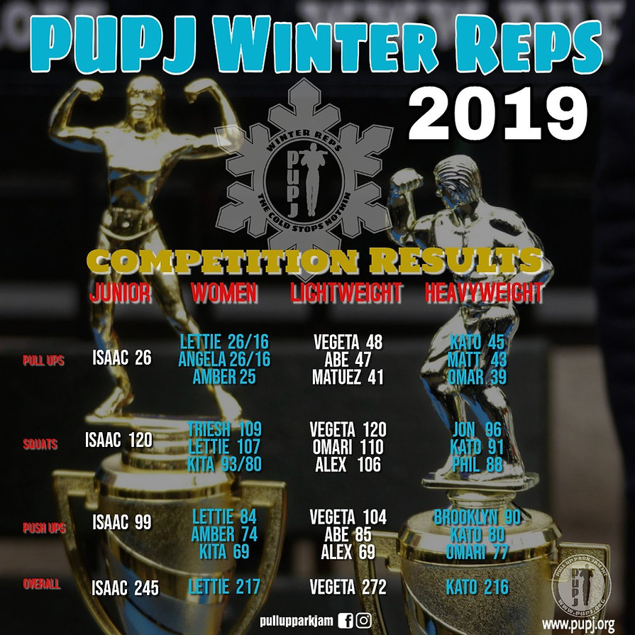 PUPJ Winter Reps 2019 RESULTS FLYER IG.j
