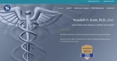 Wendell O. Scott, M.D., LLC Website