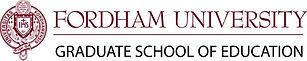 Image of Fordham University Graduate School of Education logo.