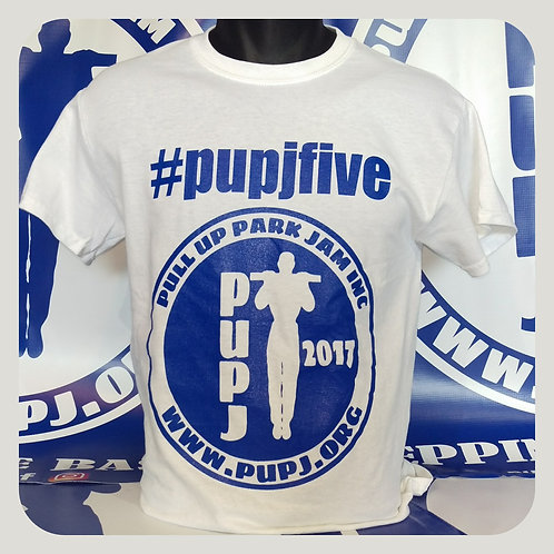 #pupjfive Limited 5yr Anniversary-Edition Tees