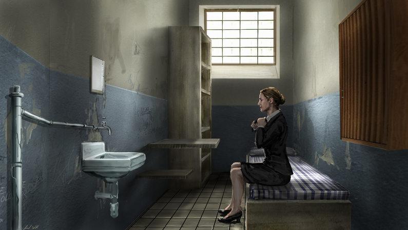 Prison Cell (U-Haft) KW