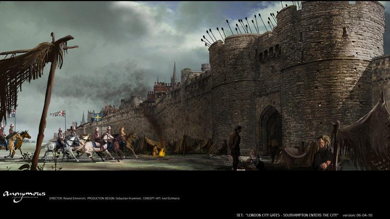 London City Gate - Southampton enters