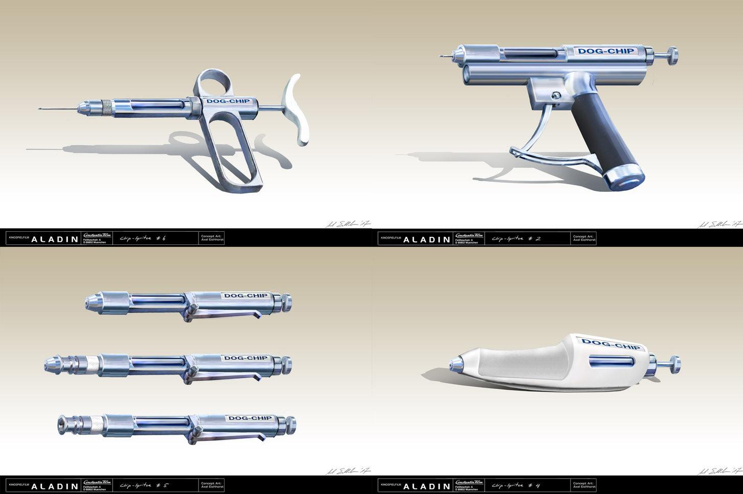 Chip-Gun Versions