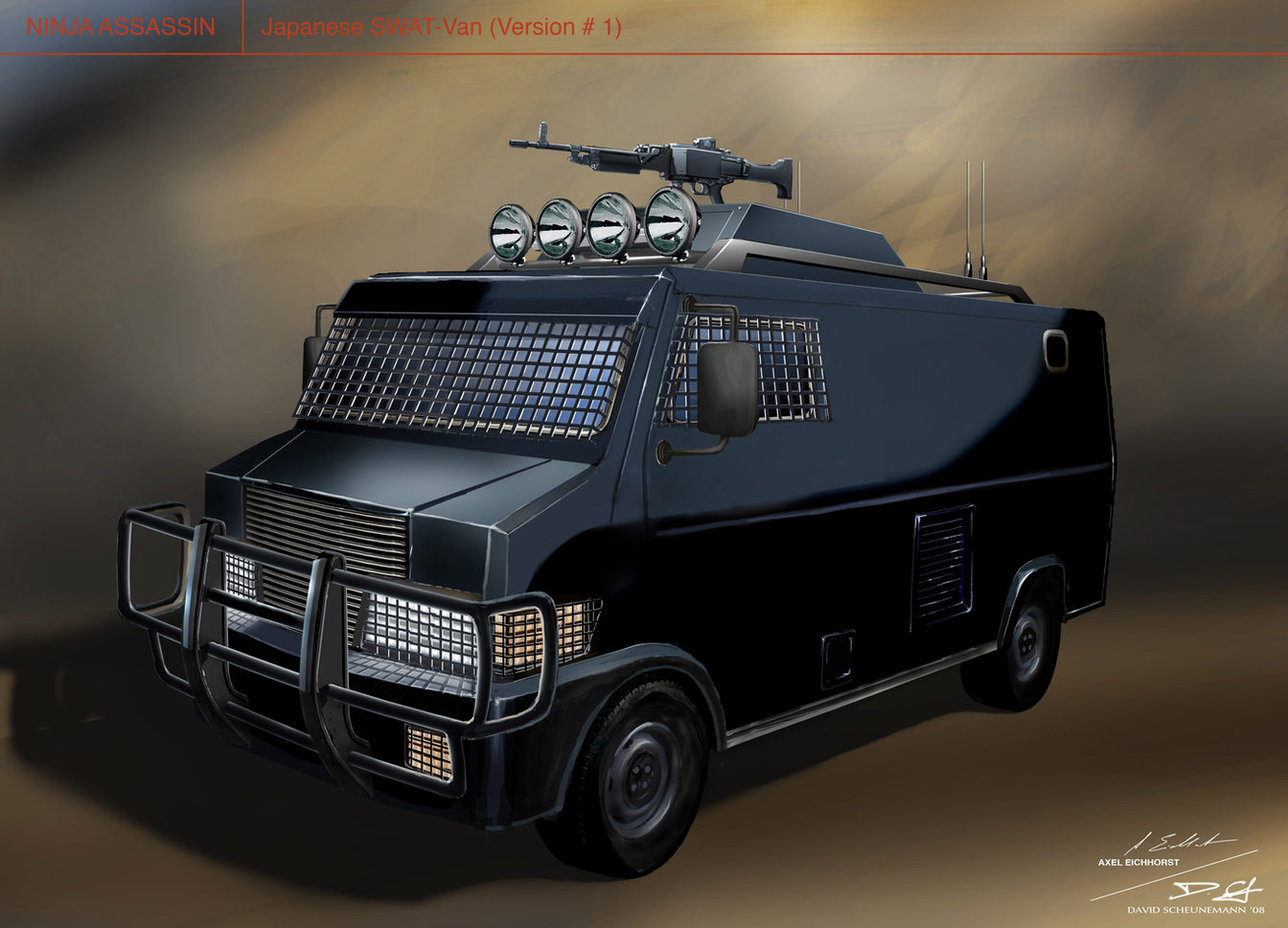 Jap.SWAT Van