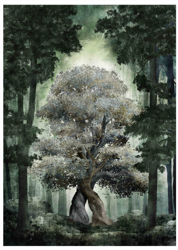 Tree fresco - setdecpainting
