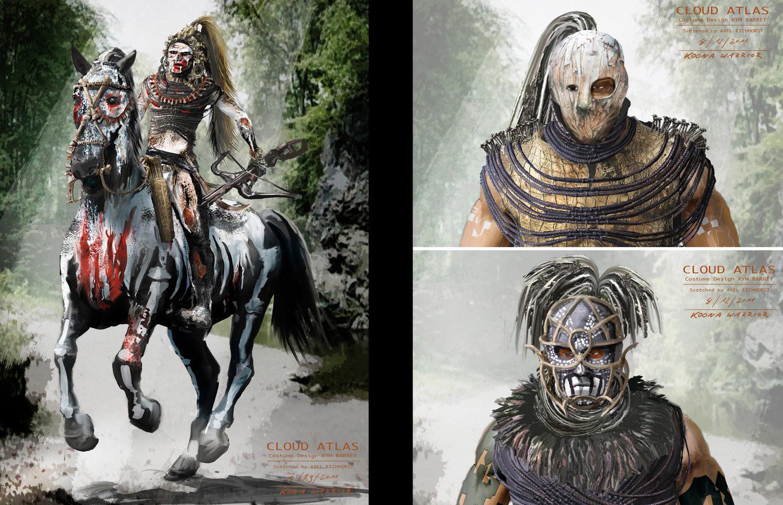 Kona (Rider) + Kona Heads