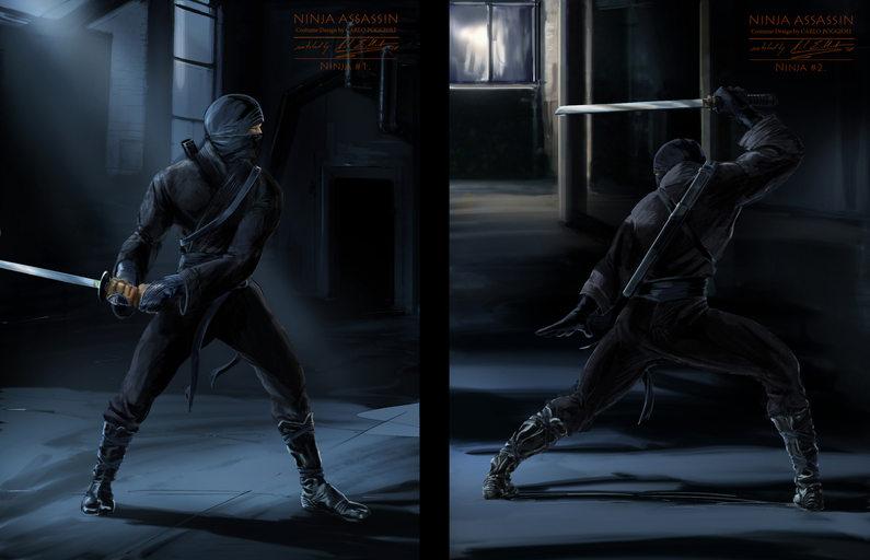 Ninjas night
